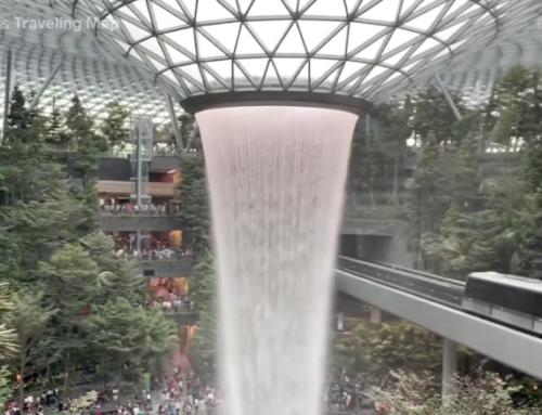 Vea el sensacional aeropuerto 'Changi' de Singapur (video)