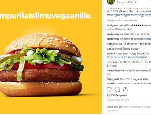 Hamburguesas vegetarianas en McDonald's