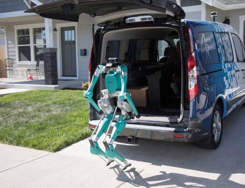 Robots Ford para entrega de mercancías