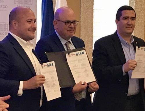 La IHCC firma un acuerdo de colaboración con la cámara de comercio de Guadalajara, Jalisco, México