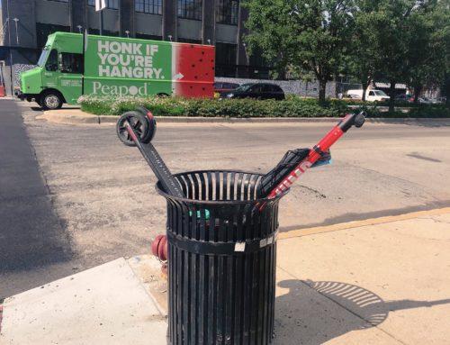 Las fallas del plan piloto de scooters eléctricos