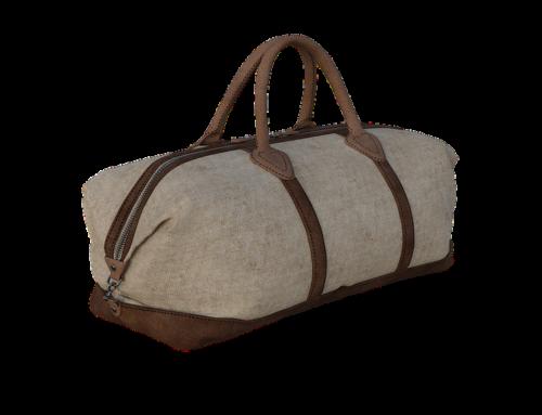 Las bolsas de lona son el mejor equipaje