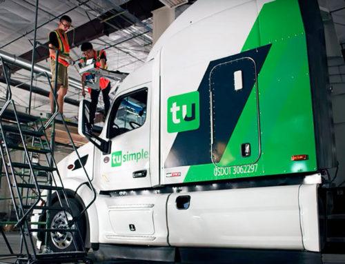Camión autónomo ya circula en las carreteras