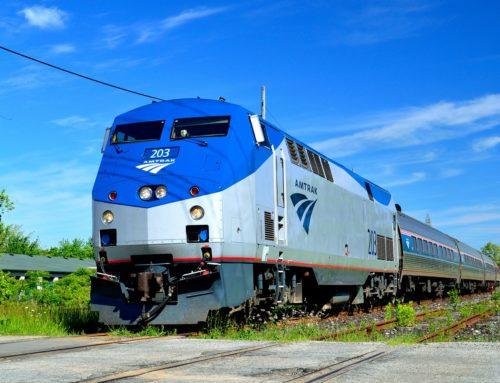 Más personas viajan en Amtrak