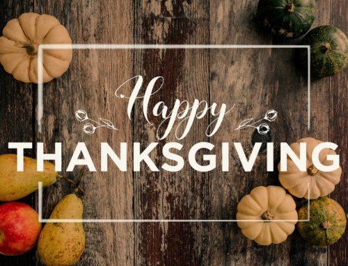 Cifras del día de agradecimientos