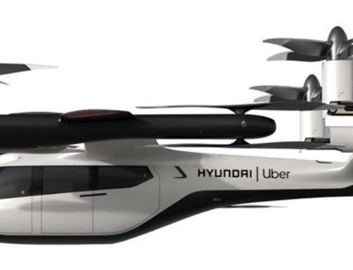 Taxis voladores de Hyundai-Uber