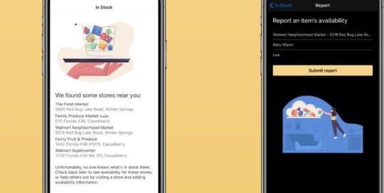 App te indica qué hay en losestantes del supermercado
