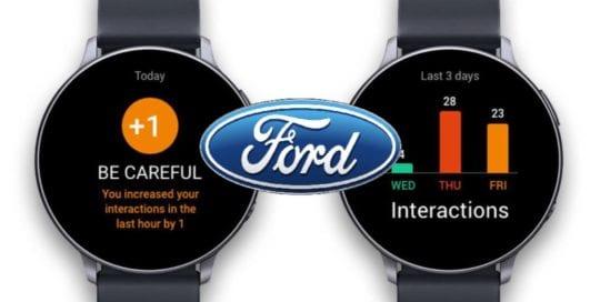 Utiliza Ford pulseras vibrantes que separan trabajadores