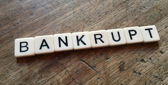 Más minoristas en bancarrota