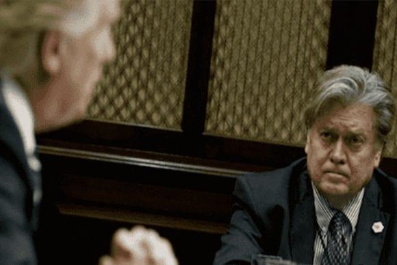 """Juez impone una fianza de 5 millones a Bannon, que se declara """"no culpable"""""""