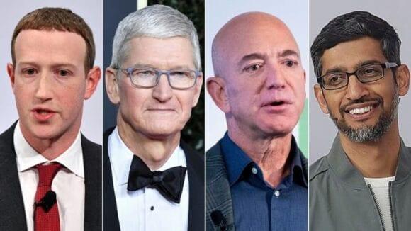 Congreso propone un plan para dividir a Amazon, Facebook, Google y Apple