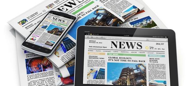 ¿Qué puedo encontrar en un periódico digital?