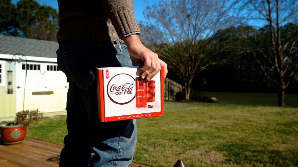 Coca Cola con café